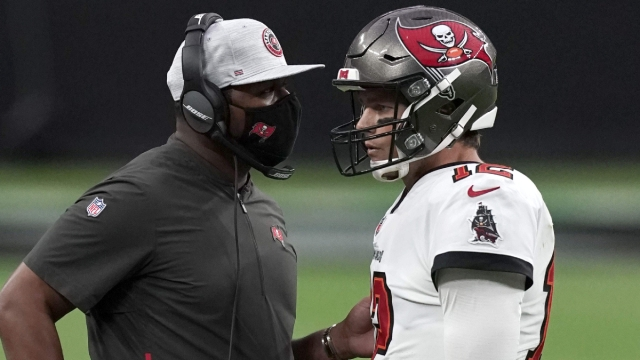 Tampa Bay Buccaneers offensive coordinator Byron Leftwich