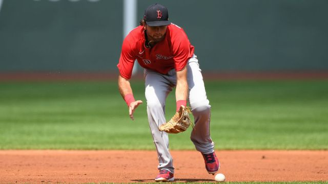 Boston Red Sox infielder C.J. Chatham