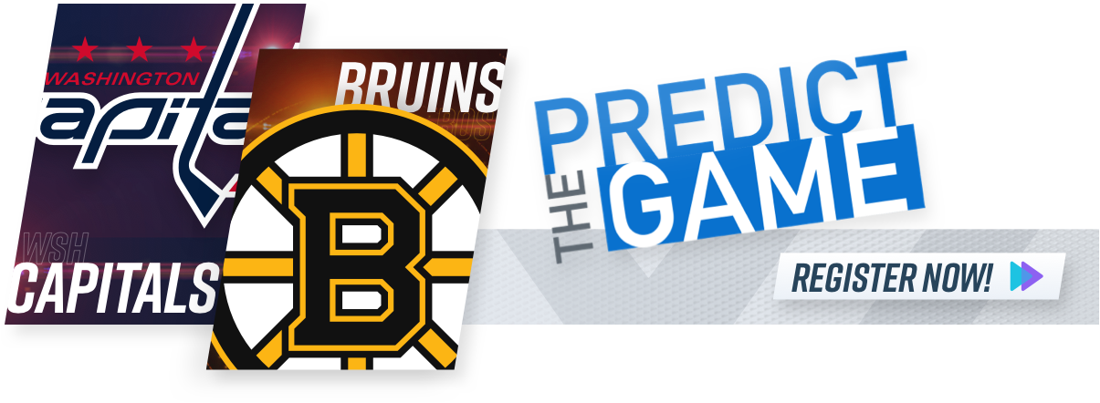 Boston Bruins Washington Capitals NESN Predict the Game