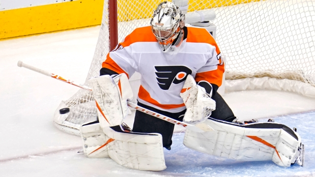 Philadelphia Flyers Goalie Carter Hart