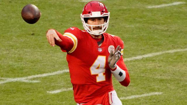 Kansas City Chiefs quarterback Chad Henne