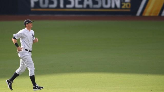 New York Yankees infielder D.J. LeMahieu