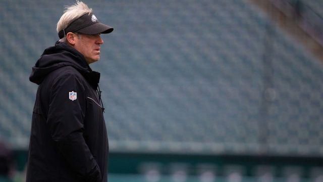 Former Philadelphia Eagles head coach Doug Pederson