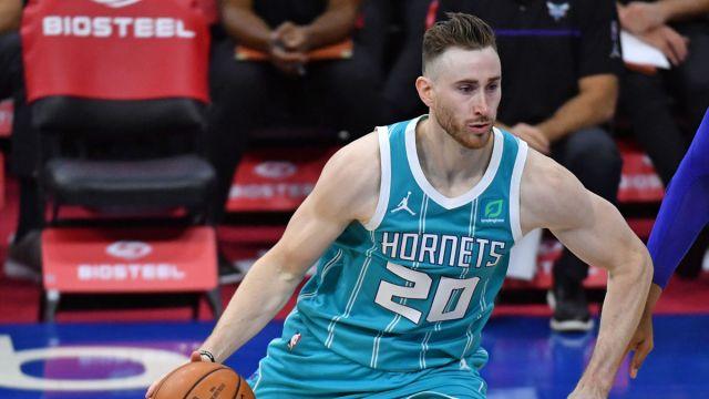Charlotte Hornets forward Gordon Hayward