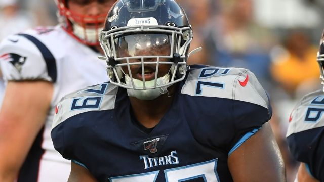 Tennessee Titans defensive tackle Isaiah Mack