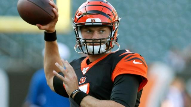 Cincinnati Bengals quarterback Jake Dolegala
