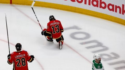 Calgary Flames Left Wing Johnny Gaudreau