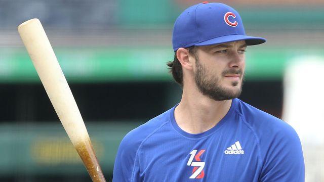 Chicago Cubs infielder Kris Bryant