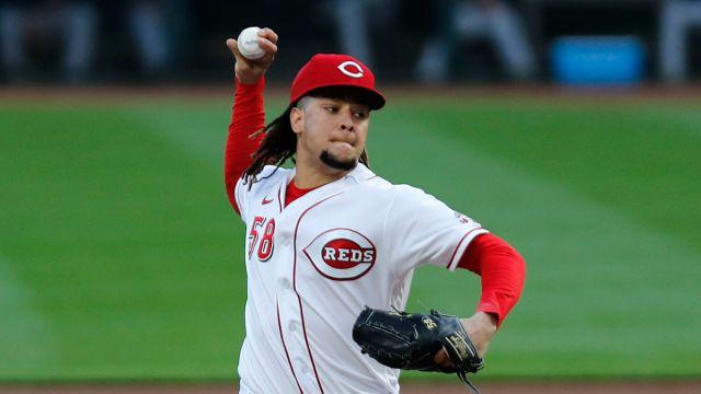 Cincinnati Reds pitcher Luis Castillo
