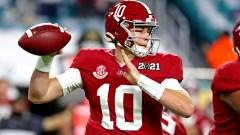 Alabama Crimson Tide quarterback Mac Jones