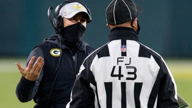 Green Bay Packers head coach Matt LaFleur