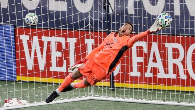 New England Revolution goalkeeper Matt Turner