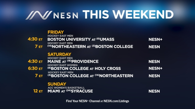 College sports on NESN networks