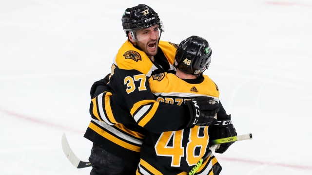 Boston Bruins Center Patrice Bergeronn