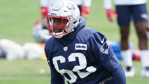 Patriots linebacker Rashod Berry