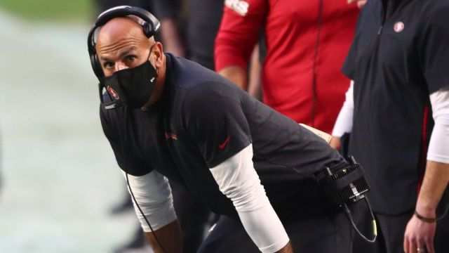 Former San Francisco 49ers defensive coordinator Robert Saleh