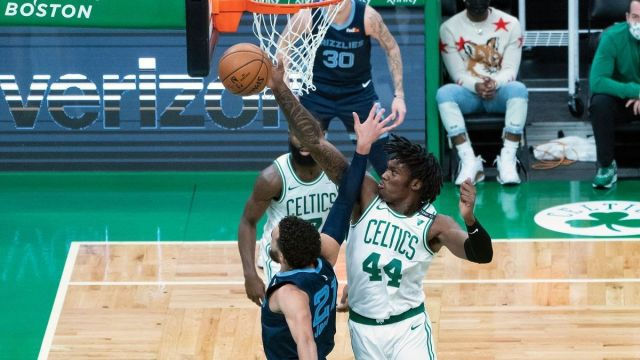 Boston Celtics center Robert Williams