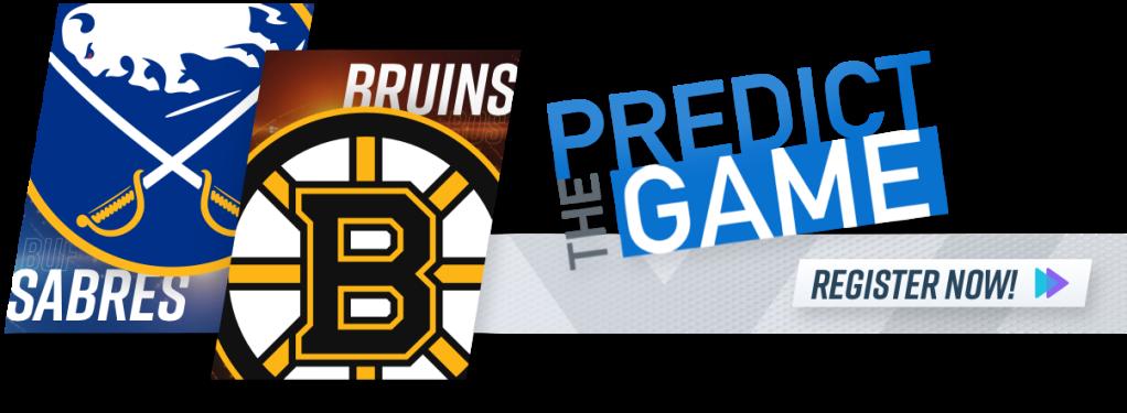Boston Bruins Buffalo Sabres NESN Predict the Game