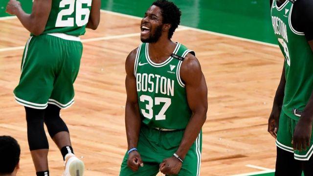 Boston Celtics forward Semi Ojeleye