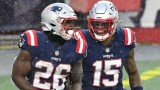 Patriots running back Sony Michel, wide receiver N'Keal Harry