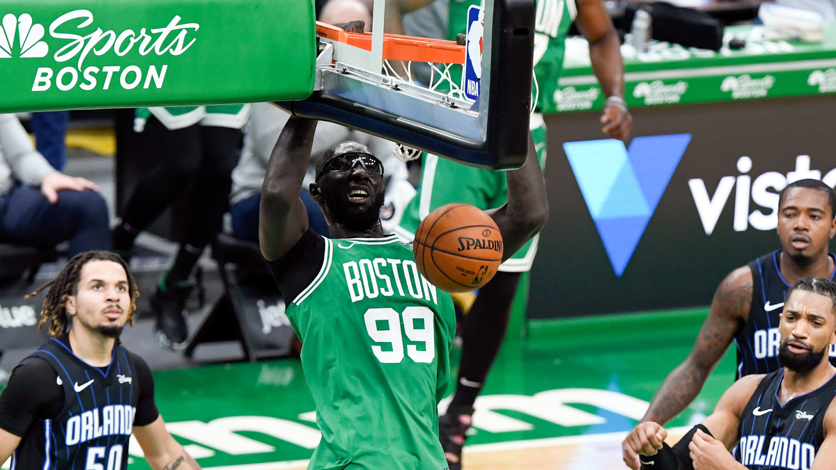 How Tacko Fall Fared In All-Star Voting (Yes, He Got Votes) - NESN.com