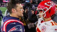 Tampa Bay Buccaneers QB Tom Brady, Kansas City Chiefs QB Patrick Mahomes