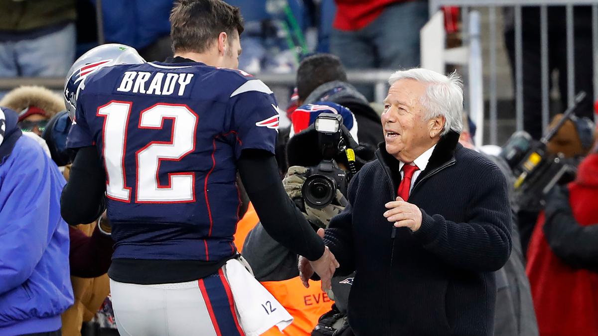 Robert Kraft Reportedly Congratulated Tom Brady After Bucs Reached Super Bowl - NESN.com