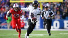 Buffalo Bills linebacker Tremaine Edmunds and Baltimore Ravens quarterback Lamar Jackson