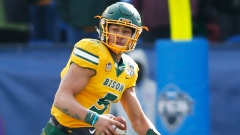 NFL Draft prospect QB Trey Lance