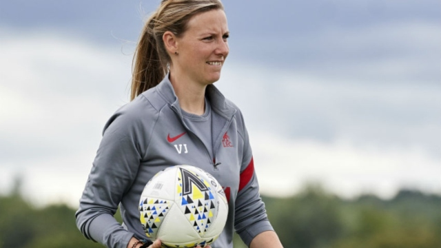 Former Liverpool FC Women's manager Vicky Jepson