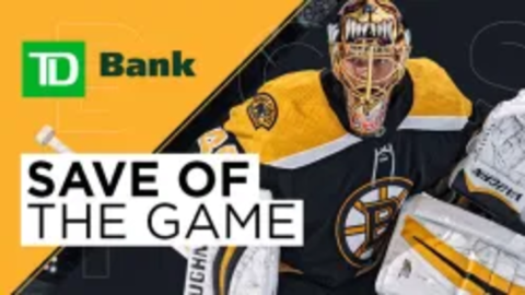 Save Of The Game - Tuukka Rask