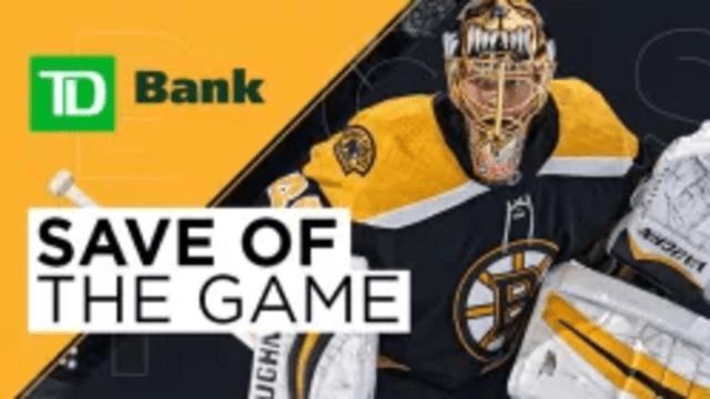Save Of The Game - Tuukka Rask