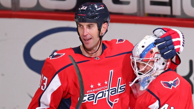 Washington Capitals Defenseman Zdeno Chara