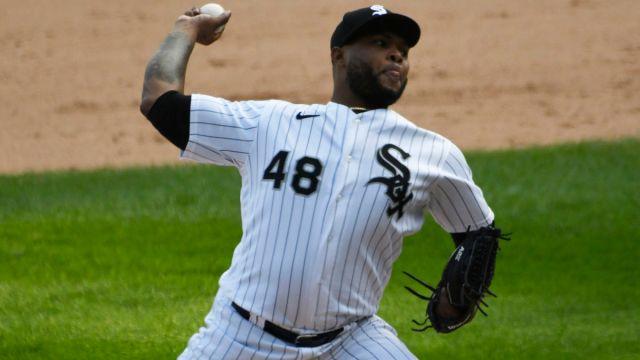 Major League Baseball pitcher Alex Colome