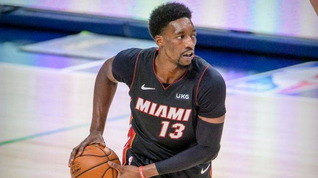 Miami Heat center Bam Adebayo