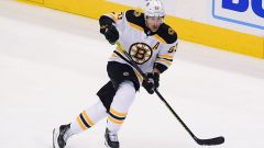 Boston Bruins left wing Brad Marchand