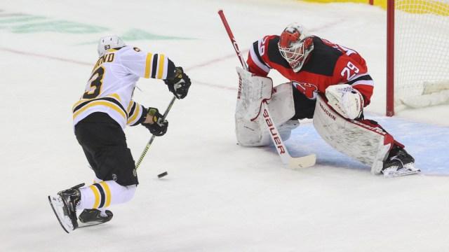 Boston Bruins winger Brad Marchand