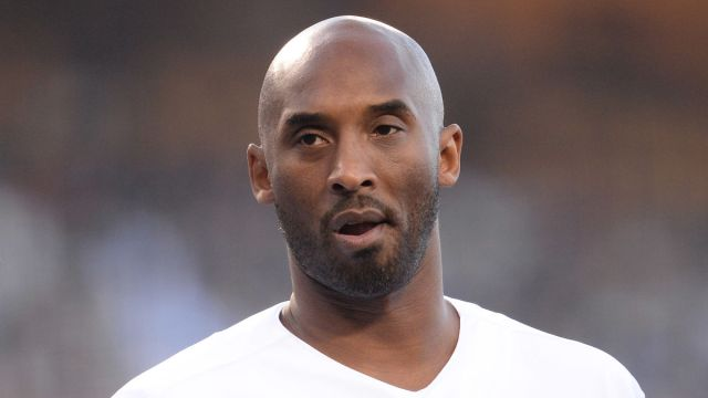 Former Los Angeles Lakers player Kobe Bryant