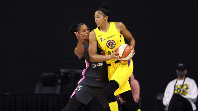 Chicago Sky forward Candace Parker