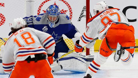 Edmonton Oilers center Connor McDavid