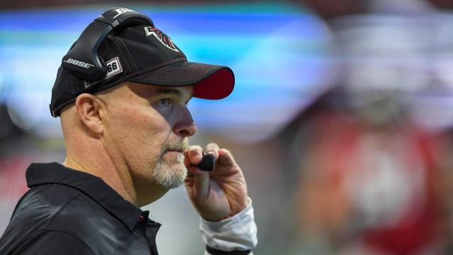 Dallas Cowboys Defensive Coordinator Dan Quinn
