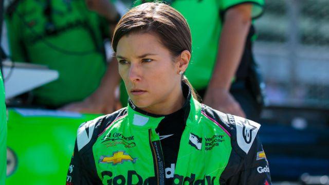 Former NASCAR driver Danica Patrick