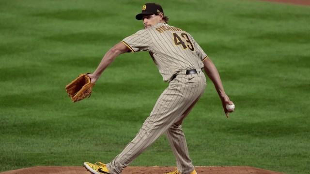 MLB free agent pitcher Garrett Richards