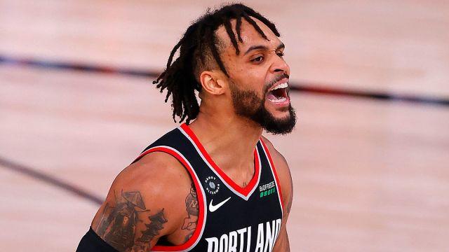 Portland Trail Blazers guard Gary Trent Jr.