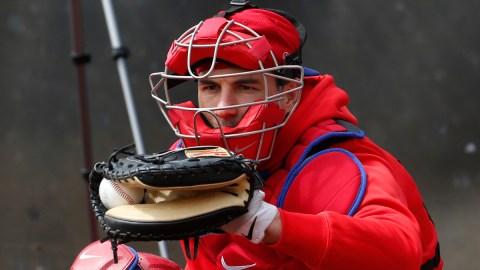 MLB free agent catcher J.T. Realmuto