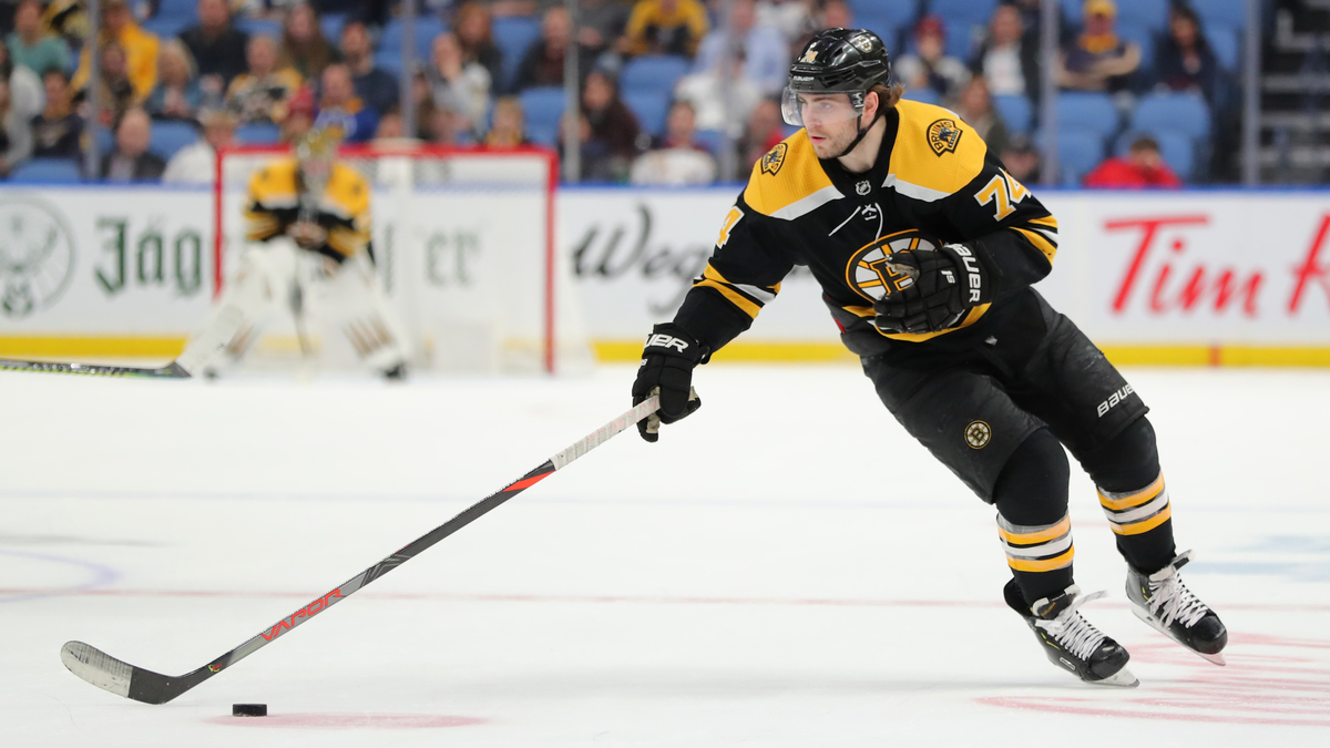 Jake DeBrusk Ruled Out Of Bruins-Penguins With Lower Body Injury - NESN.com