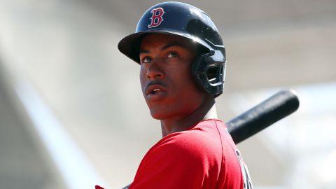 Boston Red Sox infielder Jeter Downs