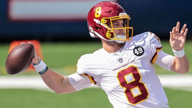 Washington quarterback Kyle Allen