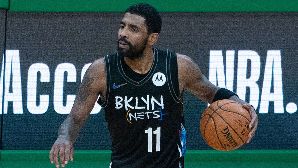 Kyrie Irving isn't exactly pleased with the Brooklyn Nets at the moment. In fact, the star point guard reportedly is