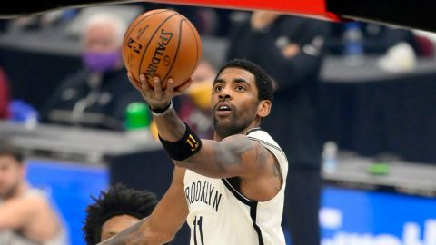 Brooklyn Nets guard Kyrie Irving